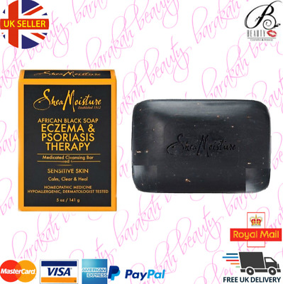 SHEA MOISTURE AFRICAN BLACK SOAP ECZEMA & PSORIASIS THERAPY 5oz