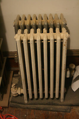 Used Cast Iron Radiators for Steam / Water Systems Hydronic Radiator 8 section