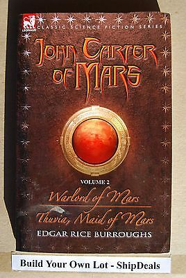 John Carter Of Mars by Edgar Rice Burroughs #2 Warlord Thuvia Maid **ShipDeals**