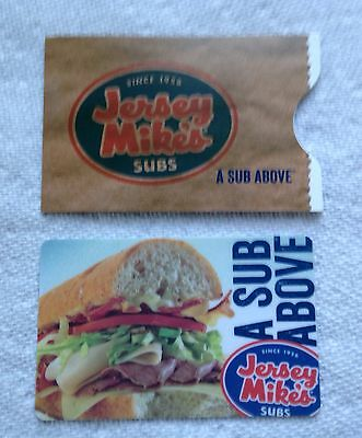 Jersey Mikes Submarine Sandwich With Bag Gift Card
