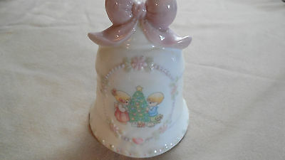 Precious Moments by Enesco 1997 Christmas Bell - Collectibles