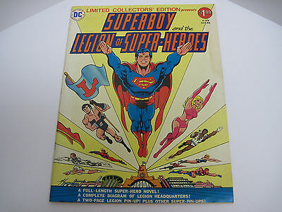 DC Limited Collector's Edition C-49 Superboy Legion Super Heroes Oversize 1976