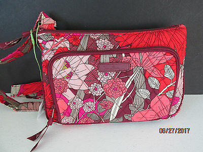 VERA BRADLEY Little Hipster Crossbody Bohemian Blooms NWT FREE SHIPPING