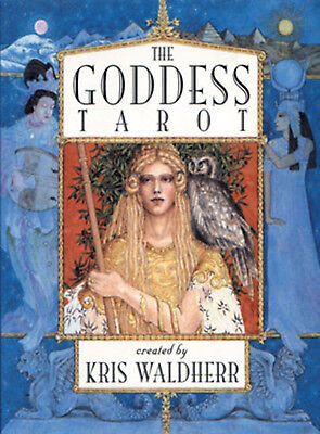 Goddess Tarot Deck NEW IN BOX Cards and Booklet by Kris Waldherr US Games