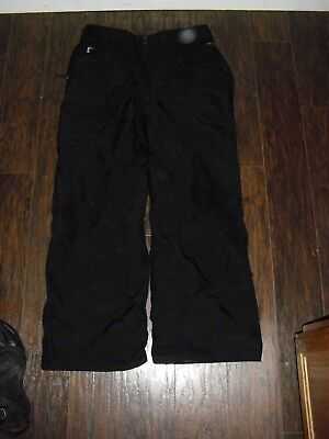 The North Face Hyvent Men's xl Snow Ski Insulated Waterproof Pants -  Black