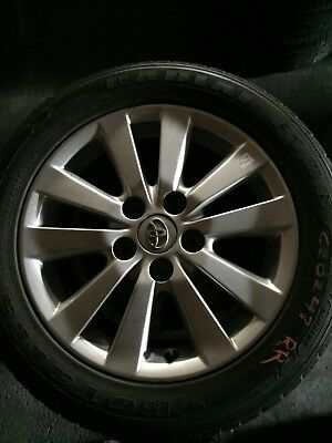 Toyota Corolla Wheels And Rotalla 205/65/16 Tyres
