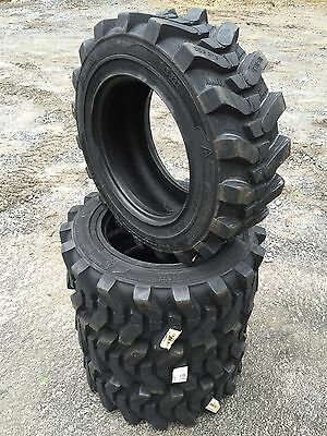 4 - 10-16.5 HD Skid Steer Tires-Camso SKS532-10X16.5 Xtra Wall-for John Deere