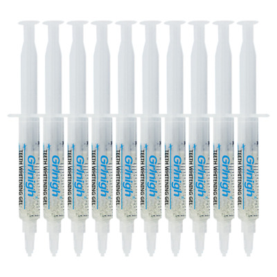 10ml Carbamide Peroxide Clinical Regular Strength Teeth Whitening Gel Syringes