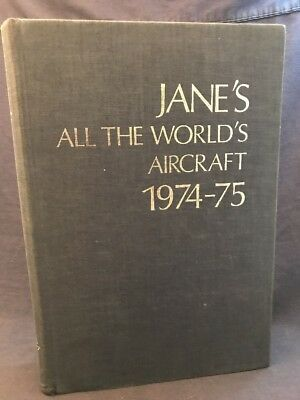 Jane's All the World's Aircraft 1974-75 Aviation Airplane Ads SAAB Boeing Airbus