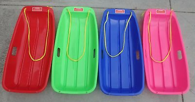 TOBOGGAN SNOW SLED LARGE (RED/BLUE/GREEN OR PINK) 1 for $25 Plus Postage