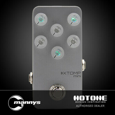 Hotone XTOMP mini Bluetooth Multiple Effects Pedal