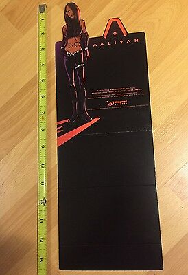 Vintage 2001 Aaliyah LP PROMO COUNTER POP DISPLAY STANDEE RARE Anime poster R&B