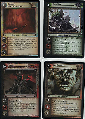 Lord of the Rings CCG Bloodlines Foil: 2x Rare  Cards