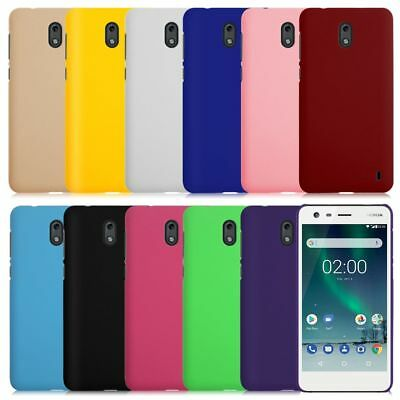 UV Painting Matte Plastic Hard Back Cover Case Protective For Nokia 2 New Design