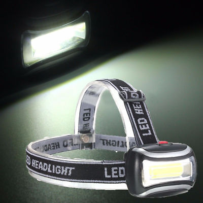 2000LM Mini Rechargeable LED HeadLamp Body Head Light Lamp Outdoor Camping Torch