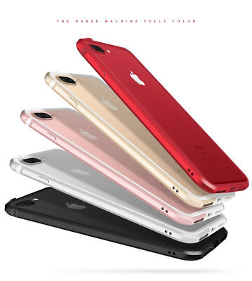 Ultra Thin Aluminum Metal+Silicone Shockproof Bumper Case Cover for iPhone7 6s L