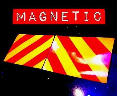 Magnetic Reflective Chevrons Pickup Transit Van Fork Lift **lots Sold** Lqqk>>>>