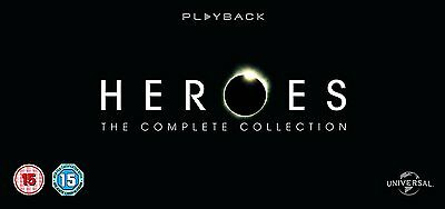Heroes: The Complete Collection (Seasons 1-4) - UK Region 2 DVD - Jack Coleman