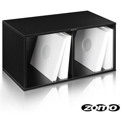 ZOMO VS-BOX 200 (black) box contenitore x contenere ospitare 240 vinili lp mix