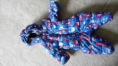 boys mothercare snow suit 1month