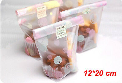 30 x Bubble Lollie Bags treat translucent lolly favors party plastic packing