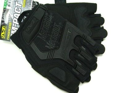 MECHANIX WEAR X-Large Covert Fingerless M-PACT Tactical Work Gloves! MFL-55-011