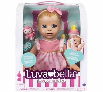 Luvabella Doll Blonde - Brand New *UK Seller* Blond