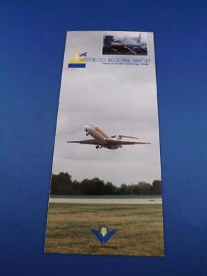 Waterloo Regional Airport Advertise Brochure Gateway Canada Technology Triangle