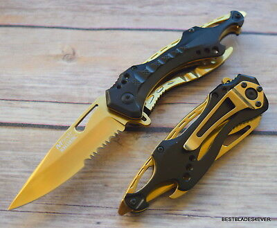 Mtech Tactical Spring Assisted Knife With Pocket Clip