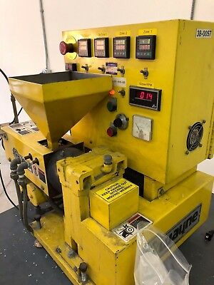 Wayne 1/2 in. Table-Top Extruder, S/N 7625, 1 HP, 3-Phase, 25 Amp, 230 V, 60 Hz