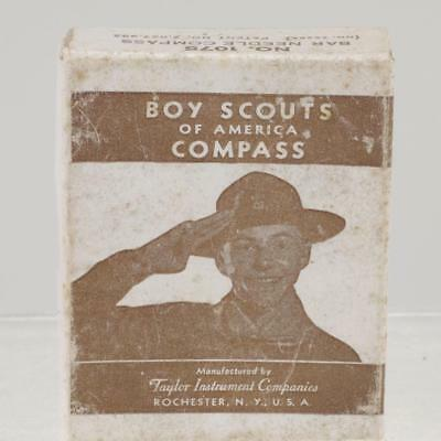 1934 BOY SCOUTS OF AMERICA COMPASS by TAYLOR INSTRUMENT  ROCHESTER NY REF:4881P