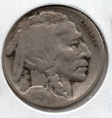 Nice 1919 S Buffalo Nickel Buy it Now Free Shipping in USA