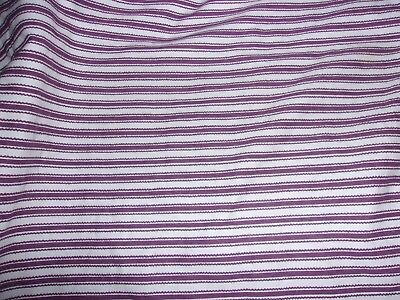 Longaberger 1998 Sweetheart Picture Perfect Basket Liner & Tie - Purple Ticking