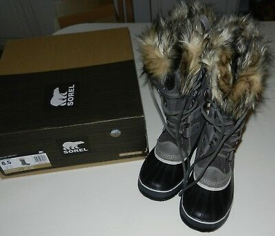 NIB Donna 8, 8.5 Or 10.5 Sorel Joan Stivali Of Arctic Stivali Joan Shale   f1cd6d