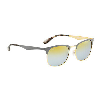 8529add6cd RAY-BAN MIRRORED RB3538-9007 A7-53 Grey Clubmaster Sunglasses ...