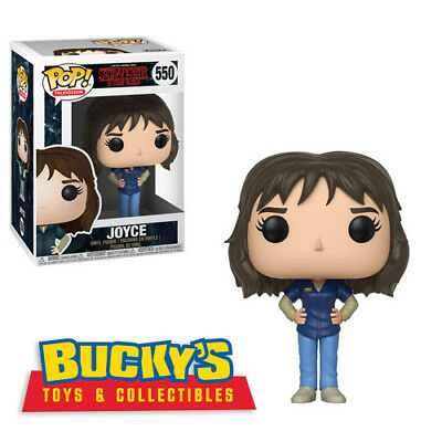 Joyce Funko Pop Stranger Things W3 Will Dustin Lucas Mike Eleven Max Ghostbuster