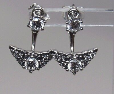 ce184a607 PANDORA NEW W/BOX Fairytale Tiara Stud Earrings, Clear CZ #296228CZ ...