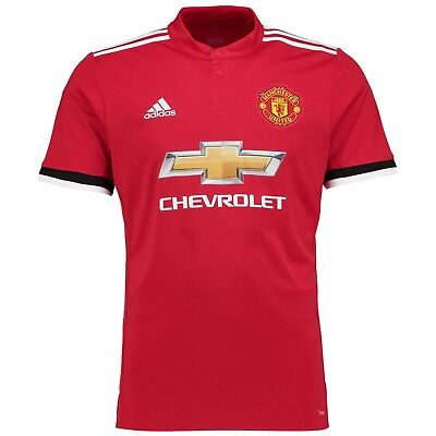 Manchester United Home Shirt 2017/18 (Plain & Alexis No 7)