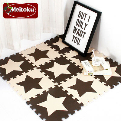 Meitoku Baby EVA Foam Puzzle Play Mat /kids Star Rugs Toys carpet for childrens