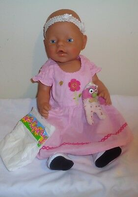 Baby Born Doll By Zapf Creations, Blue Eyes