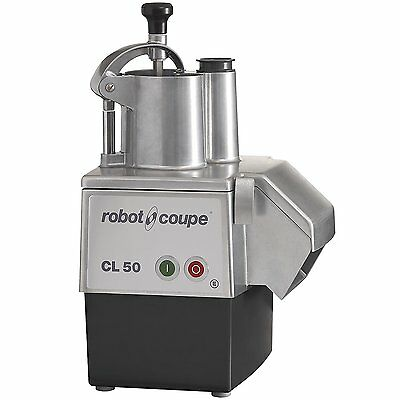 Robot Coupe CL50E Continuous Feed Food Processor 1-1/2 HP 120v