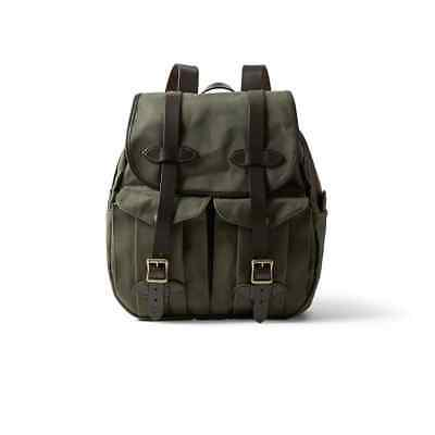 Filson Rucksack Bag | Leather & Tin Cloth Backpack Luggage