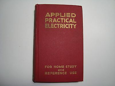 Coyne Applied Practical Electricity For Home Study Reference Use Hardcover Book