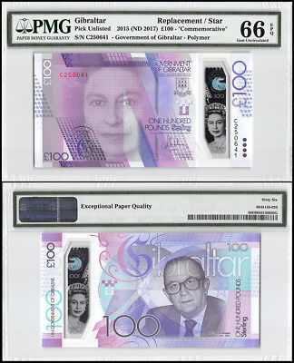 Gibraltar 100 Pounds, 2015 ND 2017, P-40r, Polymer, REPLACEMENT/STAR, PMG 66