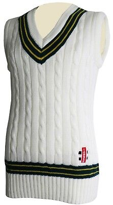 Gray Nicolls coloured sleeveless cricket Sweaters/vests
