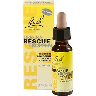Bach Original Rescue Gotas sin Alcohol 10 Ml PZN 7252816