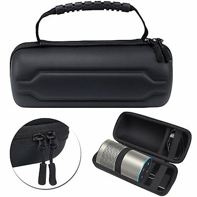 Traval Hard Case Cover Zipper Pouch Bag for Amazon All-new Echo (2nd Generation)