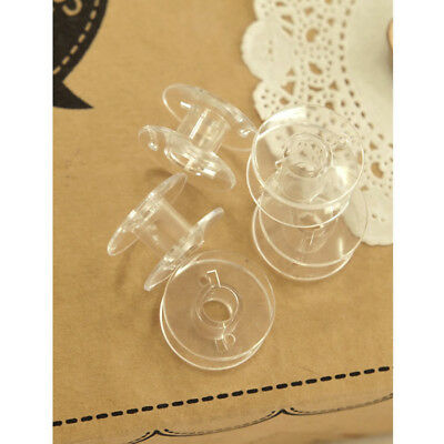 50pcs Clear Bobbins Sewing Plastic Spool Brother Essential With Lowest Price