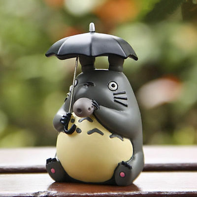 Studio Ghibli  My Neighbor Totoro Blowing Ocarina Umbrella Figure Toy Decor 5CM