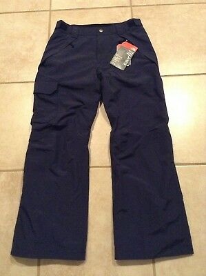 The North Face Seymore Ski Snow Winter Blue Snowboard Pants Hyvent Men's Small